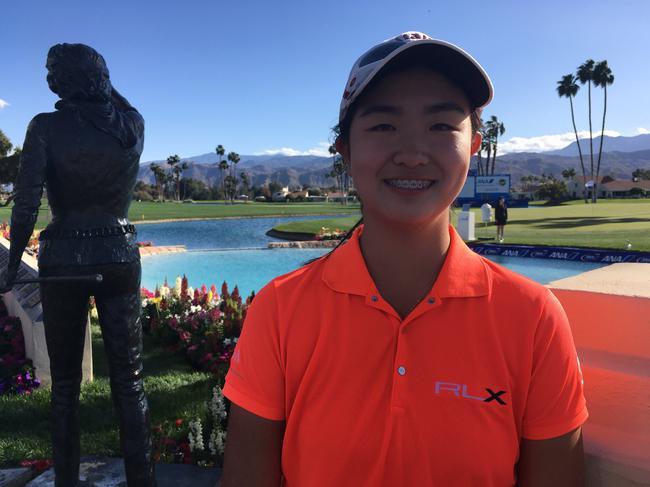 张斯洋将首次站上LPGA的舞台
