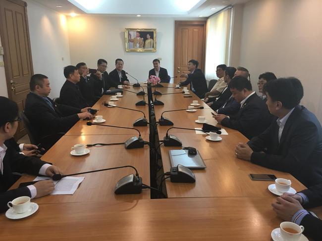 撬动中泰马业发展!中泰马业项目代表团受邀访泰交流