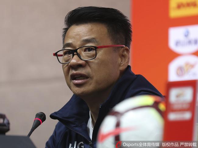 吴金贵:战略失误输球责任在自己 申花需调整心态
