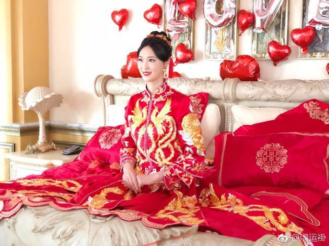 中国女排前队长惠若琪在京举办婚礼