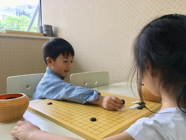 开心习弈的小棋手