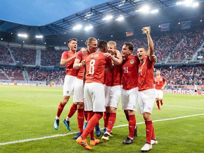 奥地利庆祝扳平