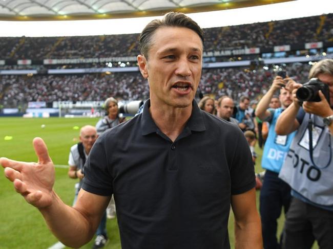 尼科-科瓦奇执教拜仁首场正式比赛