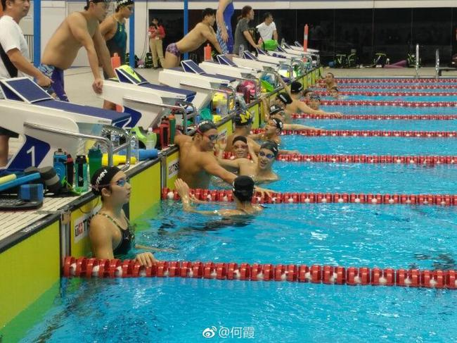 日本泳军亮相亚运:入江一日两练 萩野谈恩师缺席