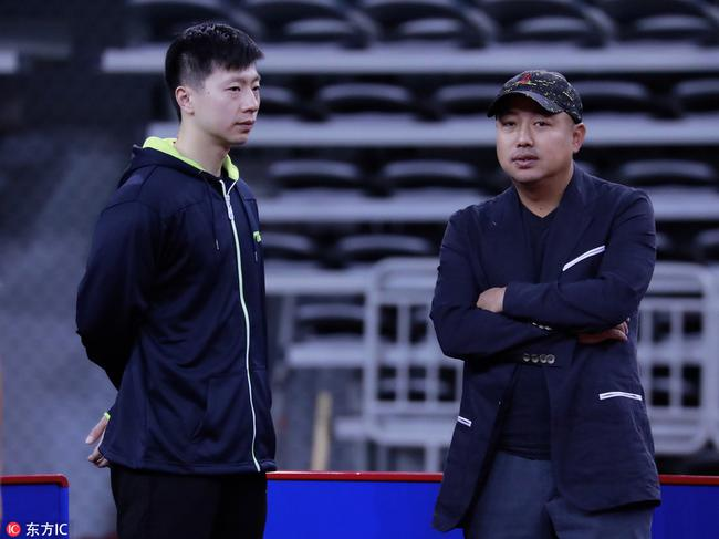 回归国乒后刘国梁首次率队出战