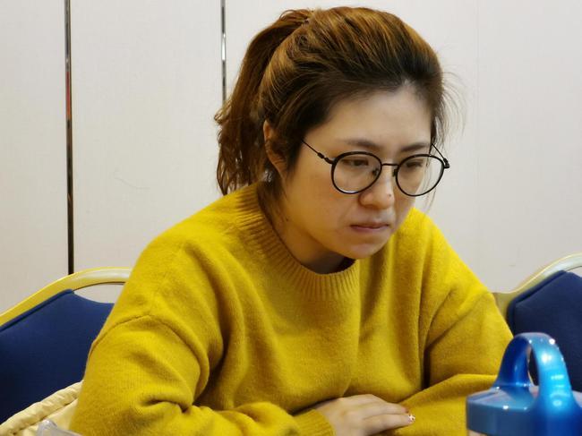 最佳女棋手张婷婷