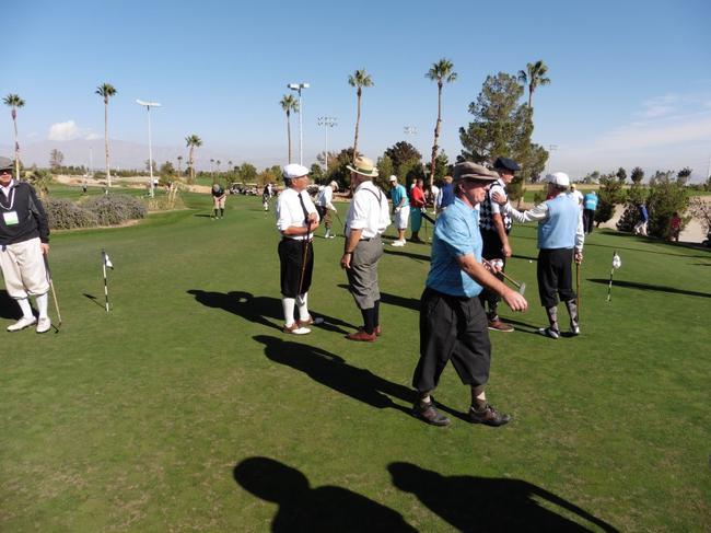 2014年美国高尔夫珍藏协会年会古董杆比赛