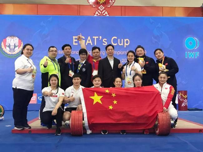 奥运积分赛中国女举破3项世界青年纪录