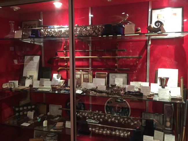 皇家布莱克希斯高尔夫俱乐部会所和博物馆藏品