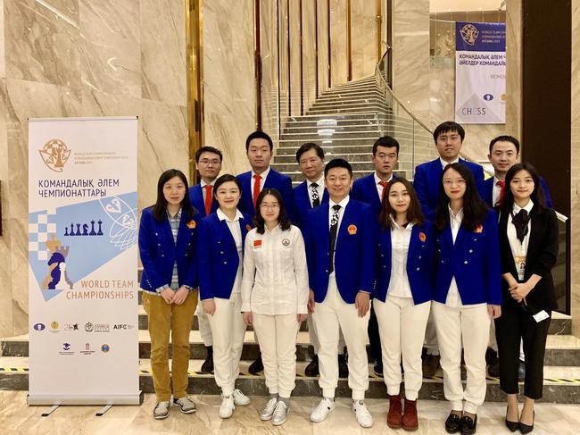 中国国际象棋队合影
