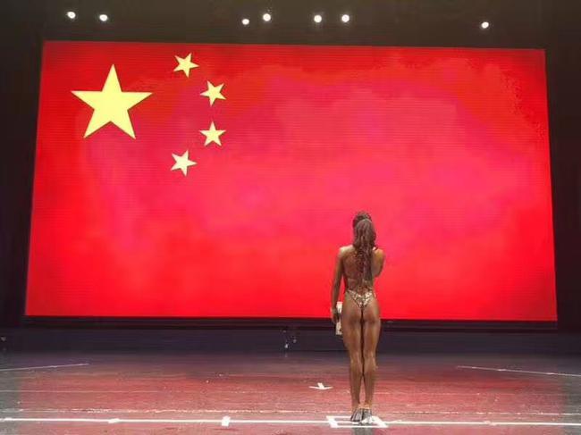 综合武术体育选手曾是受到正文投身国外运动员影响散打沟塔健美图片
