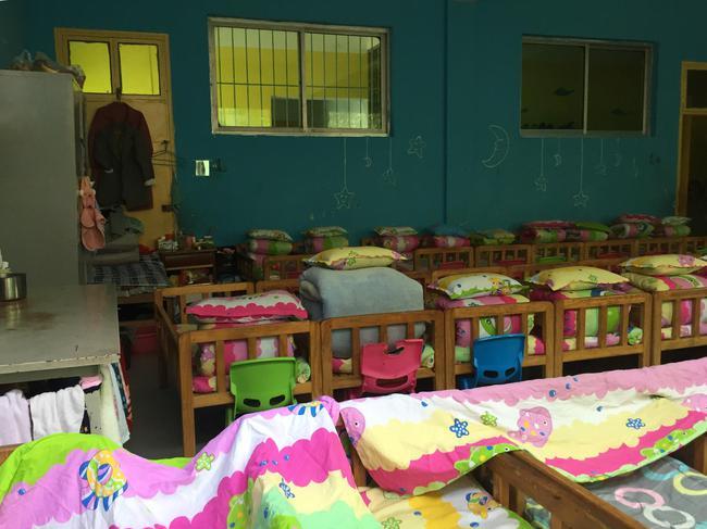 邓琳生前住的特护部宿舍。 新京报记者 张惠兰 摄