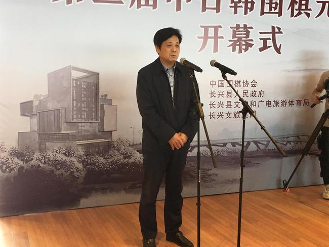 国家体育总局棋牌中心主任、中国象棋协会主席朱国平(资料图)