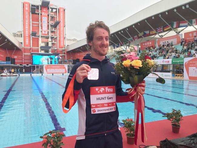 世锦赛冠军、英国名将盖瑞-亨特成功实现世界杯外子27米台四连冠伟业