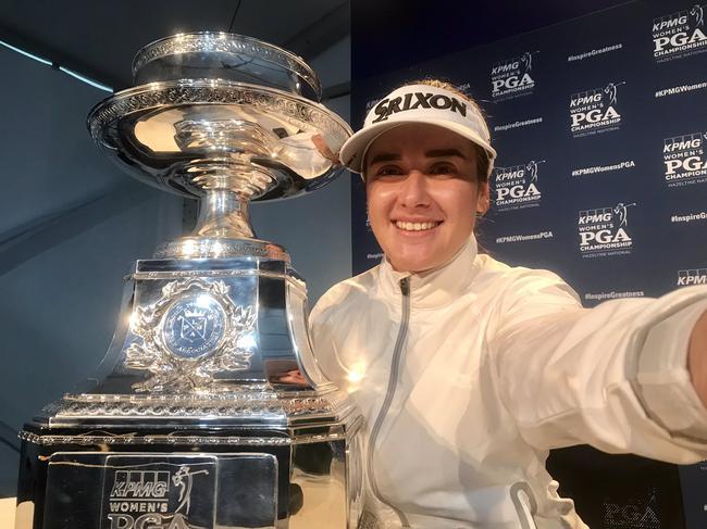 美国女子PGA锦标赛格林实现首冠 刘钰林希妤T43