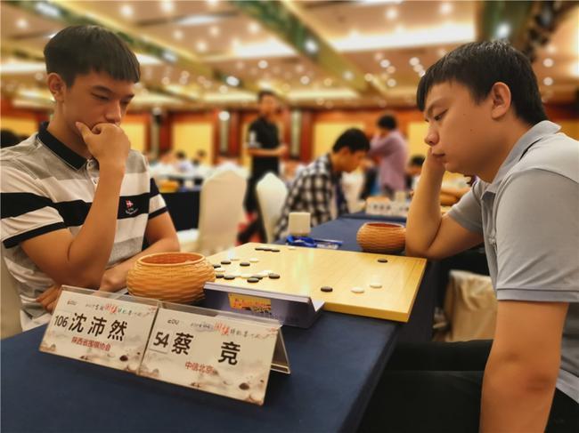 个人赛男子组竞争激烈 蔡竞难求一胜不败金身告破