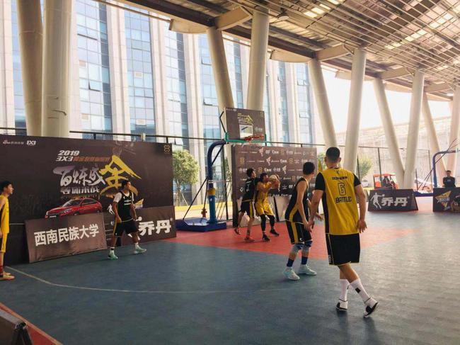 以篮球会友西南民族大学与黄金联赛结下不解之缘!