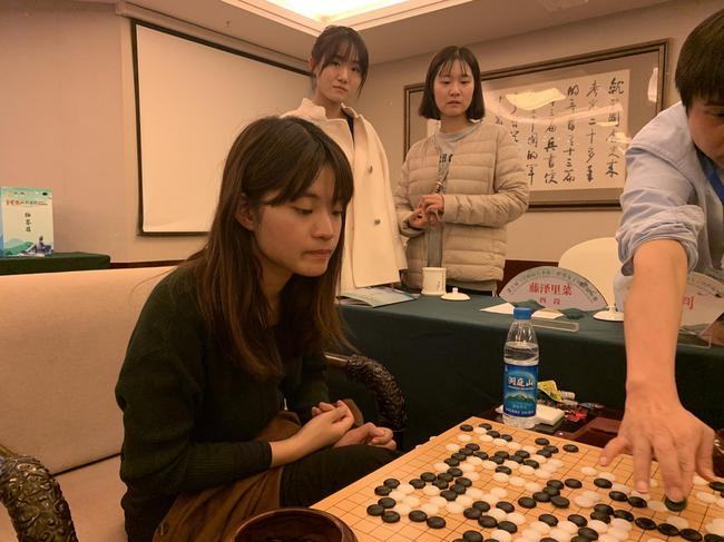 日本女棋手藤泽里菜