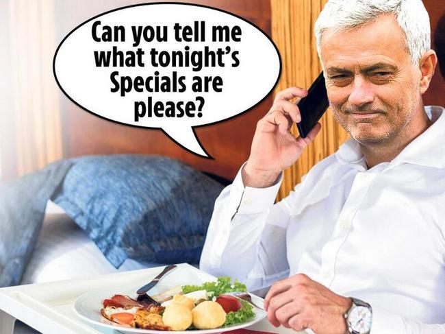 英媒调侃配图:请问今晚特色菜是啥