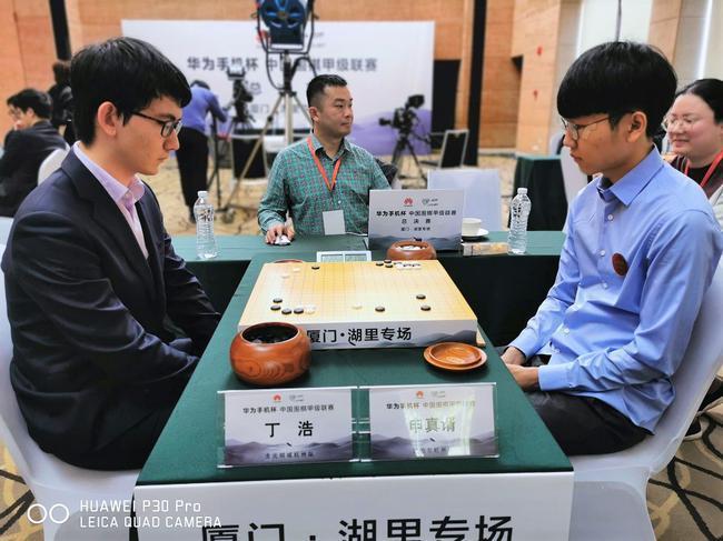 围甲总决赛第二场:柯洁-赵晨宇 邬光亚-申真谞