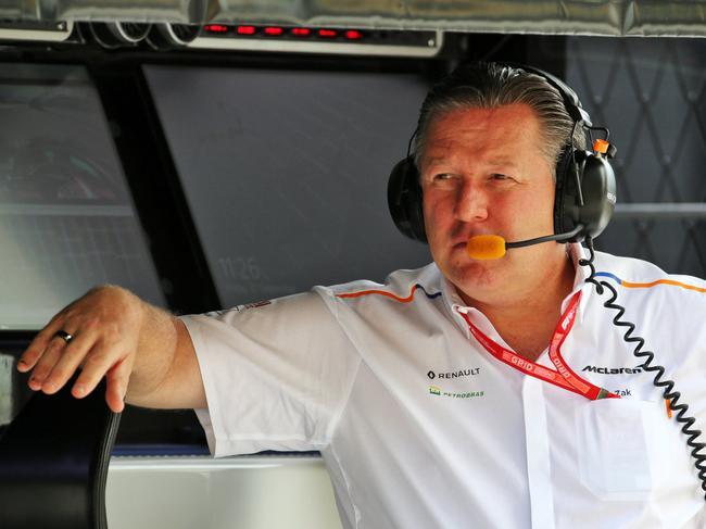 迈凯伦车队的CEO扎克-布朗