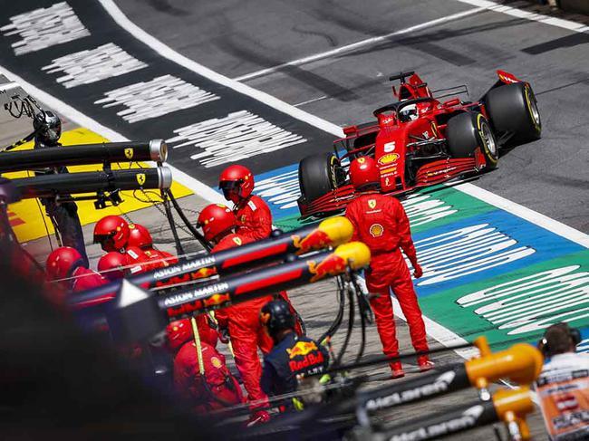 F1| 布里亚托利谈法拉利双退:我会对他们罚款