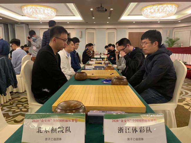 2020众安杯团体赛收官 浙江体彩携北京棋院冲甲