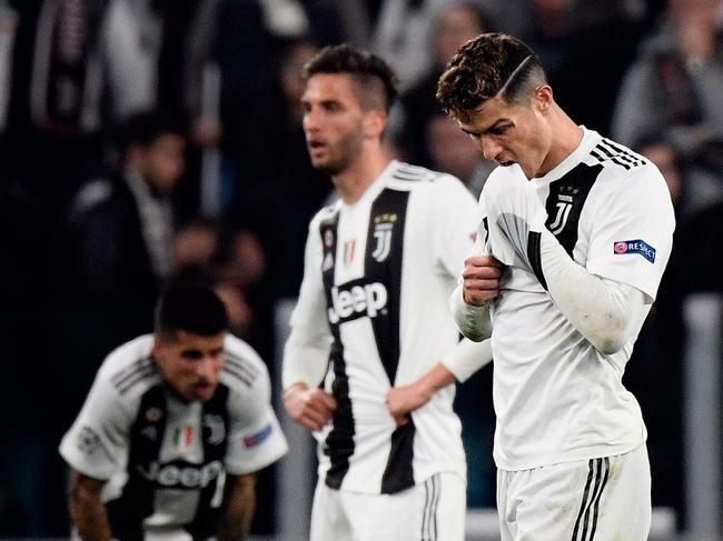 C罗时运不济!连续3年欧冠主场出局 对手均非豪门