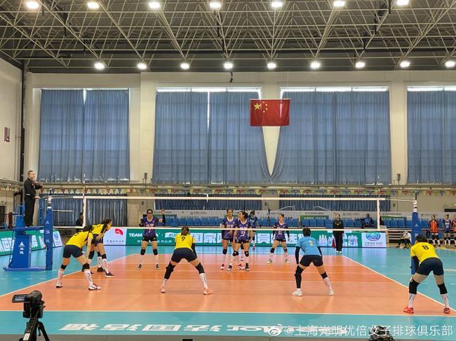 全运女排资格赛B组上海3-2广东 夺第四胜确保晋级