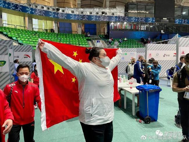 亚锦赛女举揽5枚奥运级别总成绩金牌 严精细实抓备战