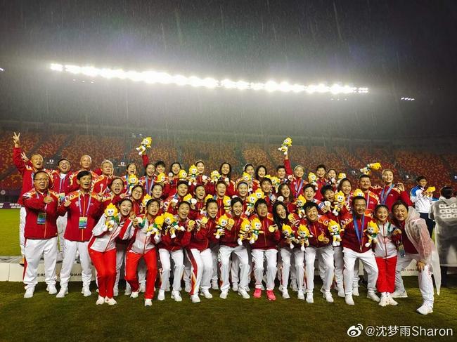 【博狗体育】留洋女足姑娘沈梦雨祝贺上海女足:你们最棒