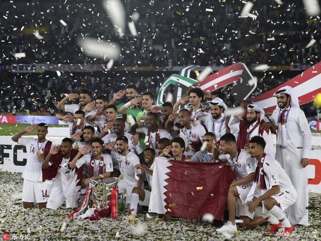 卡塔尔问鼎亚洲杯