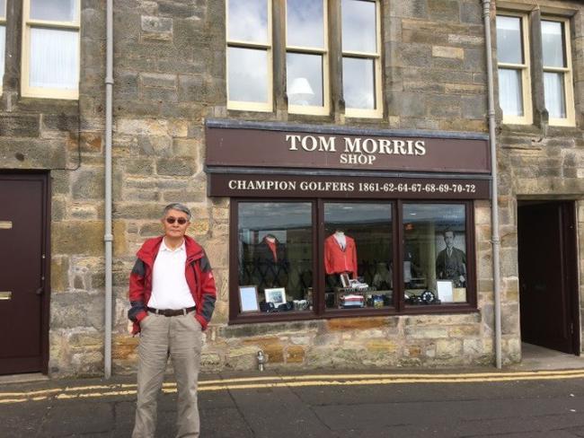 高尔夫收藏与历史系列之22 现代高尔夫教父老莫里斯