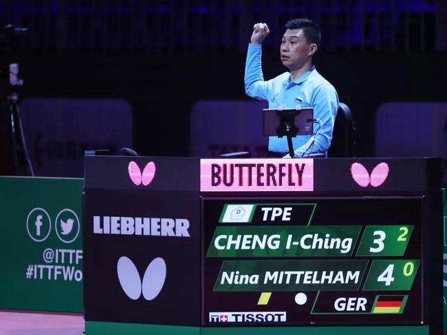 中国裁判的世乒赛总结:亚洲视角对标欧洲裁判