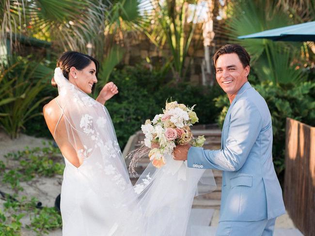 福勒與妻子