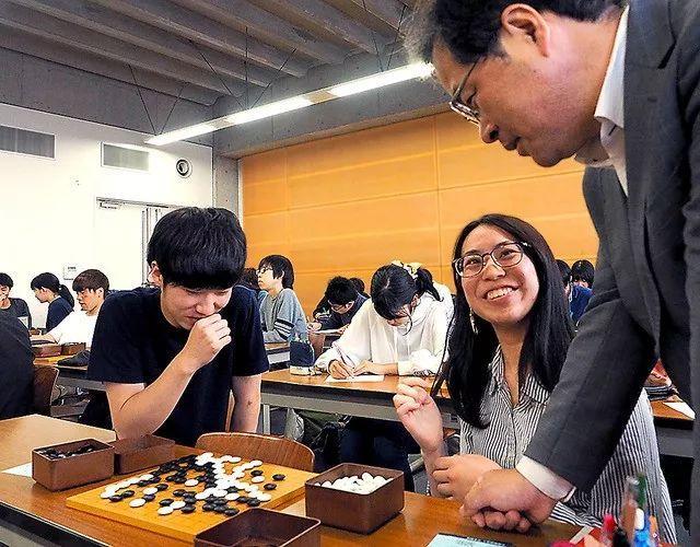 教围棋的高校变得越来越多