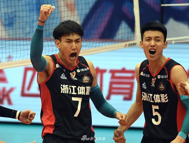 山东男排3-1力克浙江联赛摘铜 时隔四年重返三甲