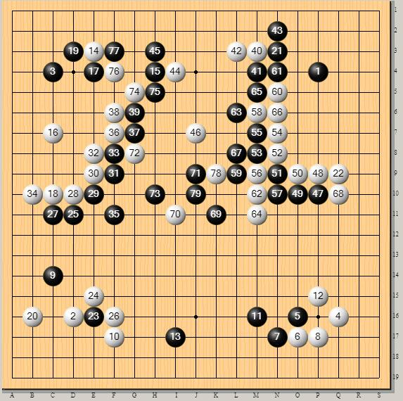 棋谱的出现是围棋发展的重要一步