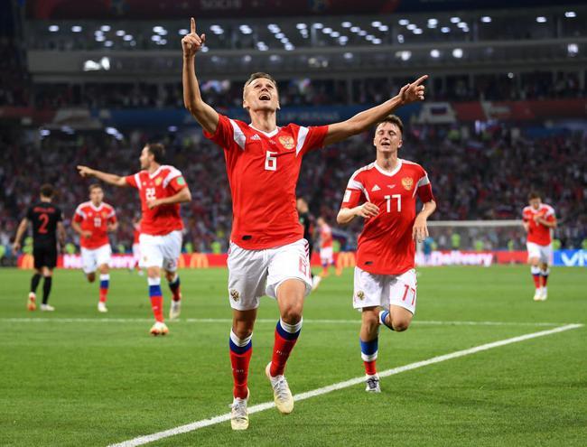 世界杯-皇马旧将世界波 克罗地亚1-1俄罗斯进加时