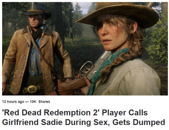和女友做爱却喊了游戏角色的名字