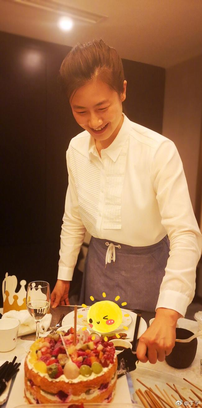 丁宁29岁生日