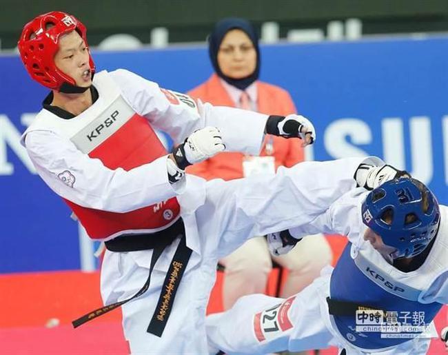 中国台北跆拳道名将藏毒被捕 18岁就夺亚运会冠军