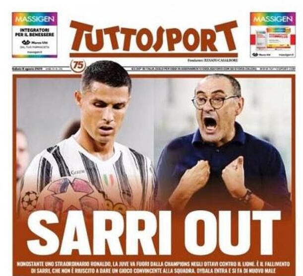 萨里自我辩护说法奇怪 意媒体呼吁:萨里下课!