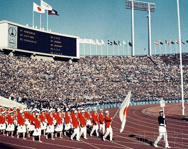 东京奥运入场式用日语五十音顺序 美法日最后亮相