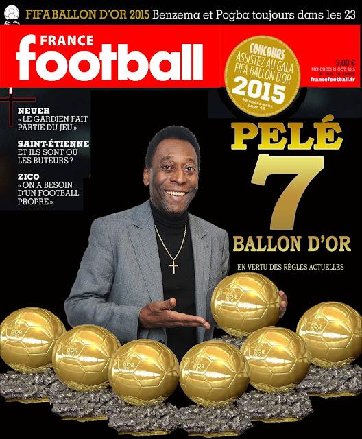 贝利,7个金球?