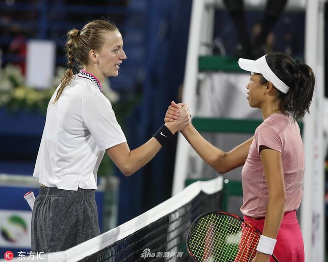 迪拜公开赛科娃2-1逆转谢淑薇 时隔6年重返决赛