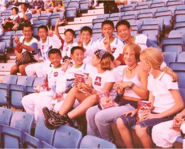 """2000年8月 """"挪威杯""""世界青少年足球锦标赛"""