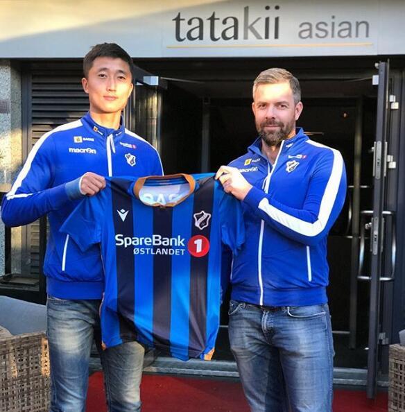 挪超球队官宣签下孙捷 亚泰高中卫开启留洋生涯