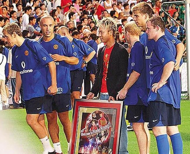 李克勤是曼联球迷