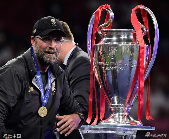 克洛普用非常规的方式夺得欧冠冠军